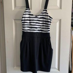 Guess Striped Mini Dress Size M